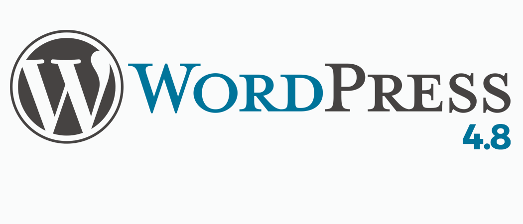 The Latest WordPress Release: WordPress 4.8